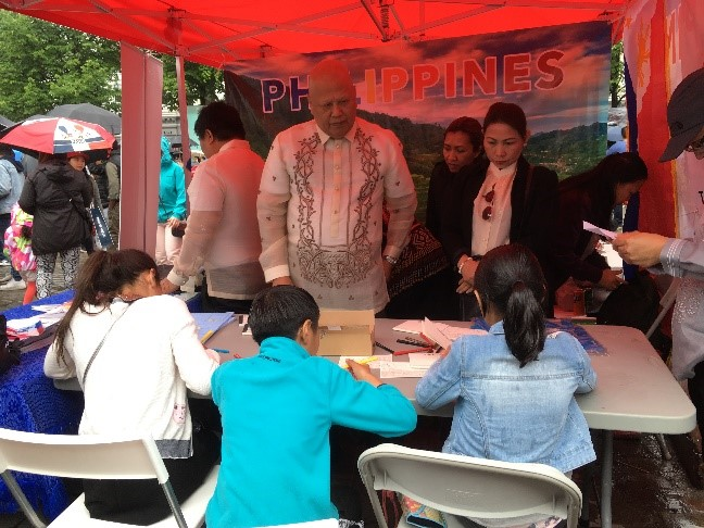 Rain or Shine, FilCom Norway Celebrates Fiesta Filipino