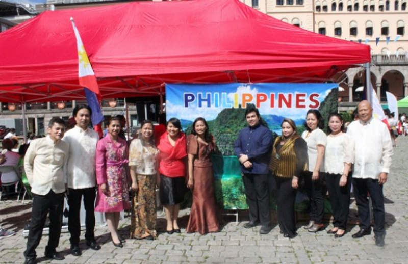 Philippine Embassy at Fiesta Filipino