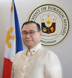 Secretary of Foreign Affairs Teodoro L. Locsin Jr.