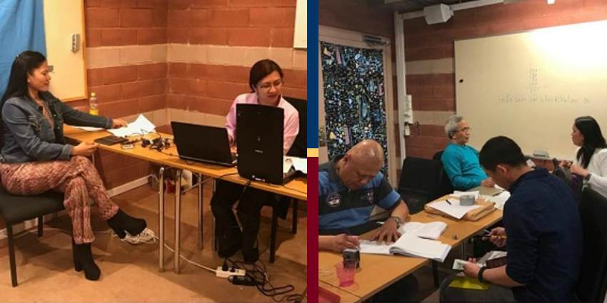 Philippine Embassy Conducts Consular Outreach Services and Overseas Absentee Voting Registrations in Sweden
