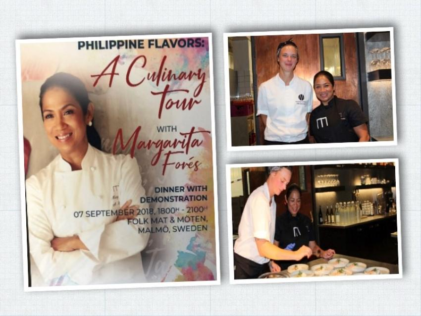 Four-City 2018 Philippine Culinary Tour in Scandinavia: Asia's Best Female Chef 2016 partners with Nordic's first female Michelin-starred chef for an enchanting dinner in Malmö