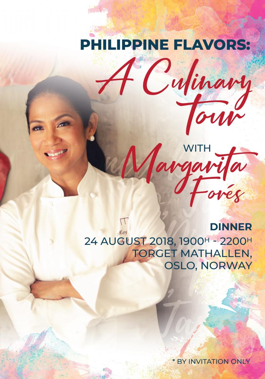 Four-City 2018 Philippine Culinary Tour Kicked Off in Oslo