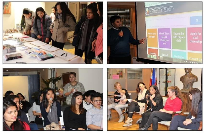 Philippine Embassy in Oslo and Caritas Au Pair Center in Norway Conduct 2nd Post-Arrival Orientation Seminar for Filipino Au Pairs