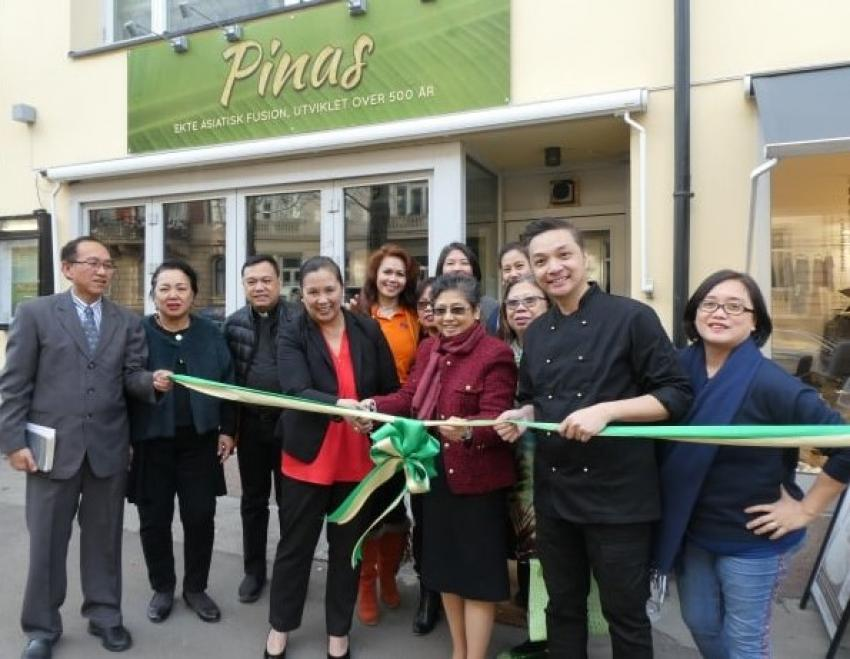 A Taste of Home, A Taste of PINAS with Launching of Filipino Restaurant