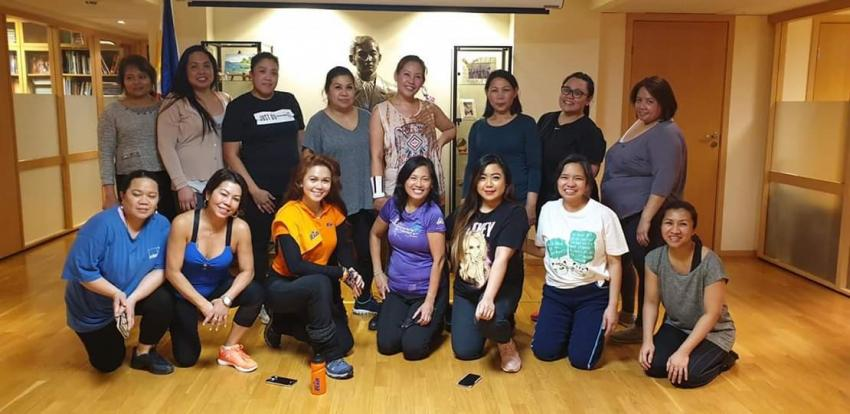 Philippine Embassy in Norway Joins Women's Month Celebrations with Zumba Session