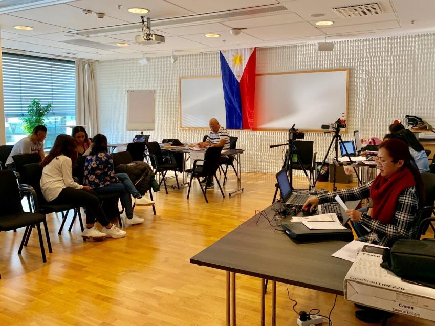 Philippine Embassy in Norway Conducts Consular Outreach Mission in Malmö, Sweden