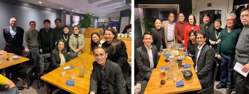 Philippine Embassy Officials Meet Filipino Community in Lund and Malmö, Sweden