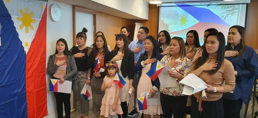Philippine Embassy in Norway Conducts Consular Outreach in Helsinki, Finland