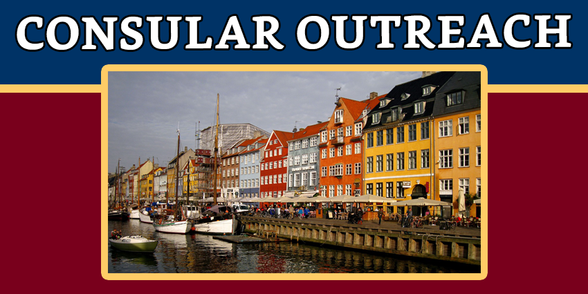 Notice on the Consular Outreach in COPENHAGEN, DENMARK