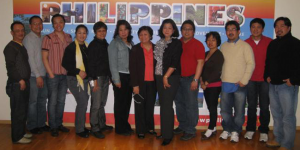 Amb. Buensuceso with Filcom Norway officers