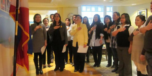 Embassy Commemorates the 25th Anniversary of EDSA People Power