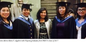 RECORD NUMBER OF FILIPINO PROFESSIONALS GRADUATE FROM THE WORLD MARITIME UNIVERSITY IN MALMO, SWEDEN