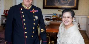 Ambassador Jocelyn Batoon-Garcia Presents Credentials to King Harald V, Kingdom of Norway