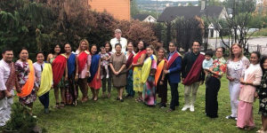 Ambassador Batoon-Garcia Inducts the 2018 Officers of Hiligaynon Association of Norway (HAN)
