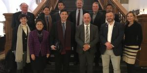 Senate President Pro Tempore Ralph G. Recto Meets Members of Danish Parliament