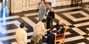 PHL Ambassador Attends Queen Margrethe II's New Year Reception