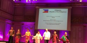 Philippine Embassy in Norway Participates in International Traditional Fashion Show in Stockholm