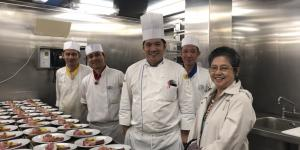 Philippine Embassy Visits Filipino Crew of Royal Caribbean Cruises' Explorer of the Seas