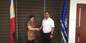 Philippine Ambassador to Norway Visits Maritime Industry Authority
