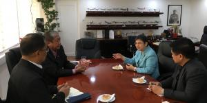 Ambassador Jocelyn Batoon-Garcia Calls on Secretary of Transportation Arthur Tugade