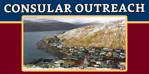 Consular Outreach in Torshavn, Faroe Islands on 7 October 2017